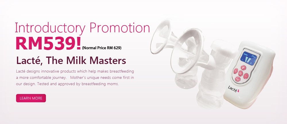 Go Lacte - Breastpump - RM499 only now!