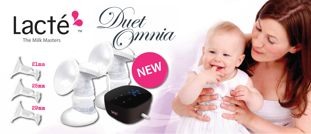 Lacté Duet Omnia - Rechargeable Electric Breastpump